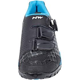 Northwave Outcross Plus schoenen Dames zwart/turquoise